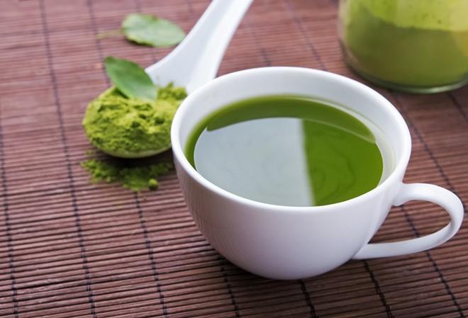 Uống trà matcha thường xuyên giúp giảm cân hiệu quả. Ảnh: True Lemon.